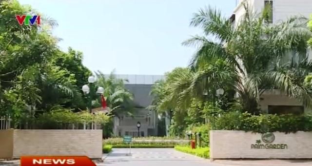 Dự án Palm Garden Việt Hưng của Tổng công ty đầu tư phát triển nhà và đô thị HUD.