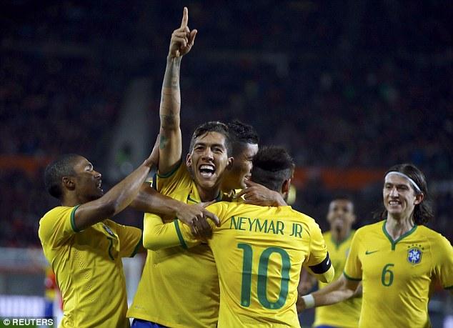 Brazil có chiến thắng liên tiếp thứ 6 dưới thời HLV Đunga