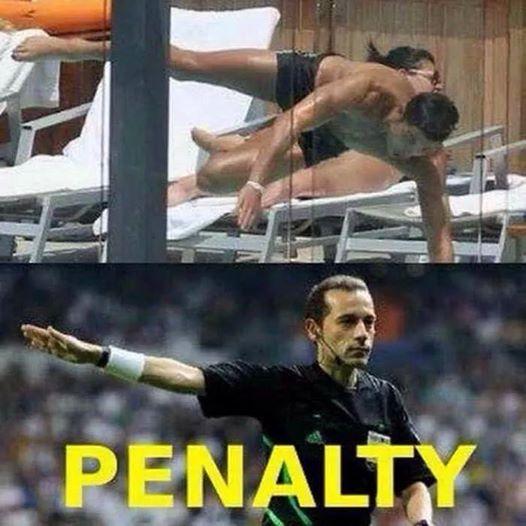 Không nói nhiều, penalty!