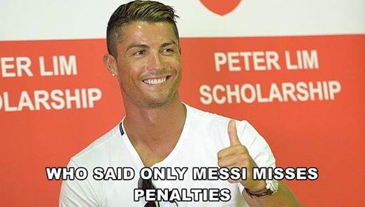 Ai bảo chỉ mình Messi mới biết sút trượt penalty?