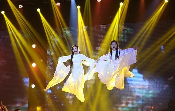 Vân Trang - Quốc Đại hóa bướm trong Liveshow 3 Cặp đôi hoàn hảo