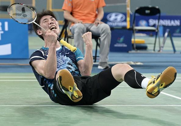 Cầu lông Hàn Quốc vừa có chiến thắng nghẹt thở trước Trung Quốc để bảo vệ thành công tấm HCV ở nội dung đồng đội nam tại ASIAD 17.