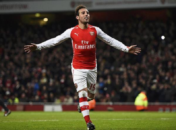 Santi Cazorla đóng góp 2 bàn trong chiến thắng 4-1 của Arsenal trước Newcastle United