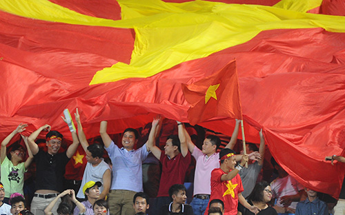 Dù thua nhưng các CĐV vẫn hài lòng với màn trình diễn của U19 Việt Nam.
