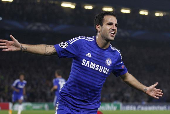 Chelsea sẽ không có sự phục vụ của Cesc Fabregas