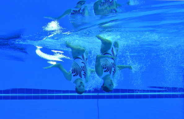 Đội bơi xếp hình mang về tấm huy chương vàng thứ 4 cho đoàn Trung Quốc tại ASIAD 17.