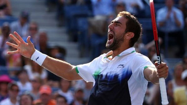 Marin Cilic có chiến thắng để đời trước Federer