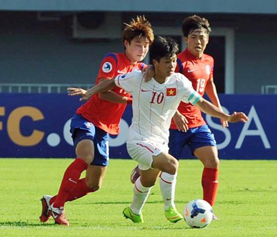 Công Phượng đã không thể bay trước U19 Hàn Quốc