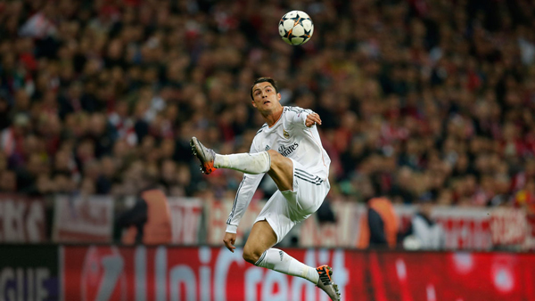 Ronaldo đang bay cao cùng Real Madrid