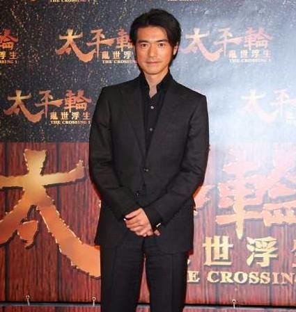 Kim Thành Vũ trong lễ ra mắt phim tại Đài Loan