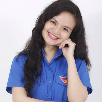 MC Thanh Hoa là một cán bộ Đoàn của VTV (Ảnh: FB Cuộc sống thường ngày)
