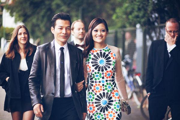 Trần Bảo Sơn và nữ diễn viên Thùy Anh