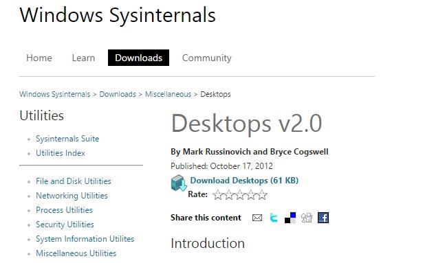Ứng dụng Desktops nhỏ gọn và tiện lợi