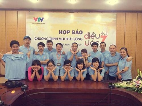 Đội ngũ BTV, quay phim, đạo diễn - những người mang Điều ước thứ 7 đến với khán giả truyền hình