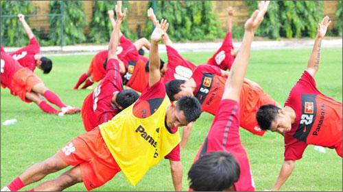 Đội tuyển Việt Nam đang dồn mọi tâm trí cho VFF Suzuki Cup 2014