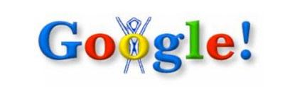 Google Doodle phiên bản đầu tiên