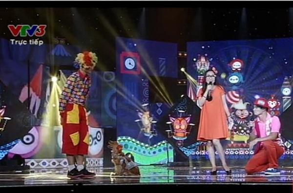 Những vũ công đặc biệt trong tiết mục của Hải Nam