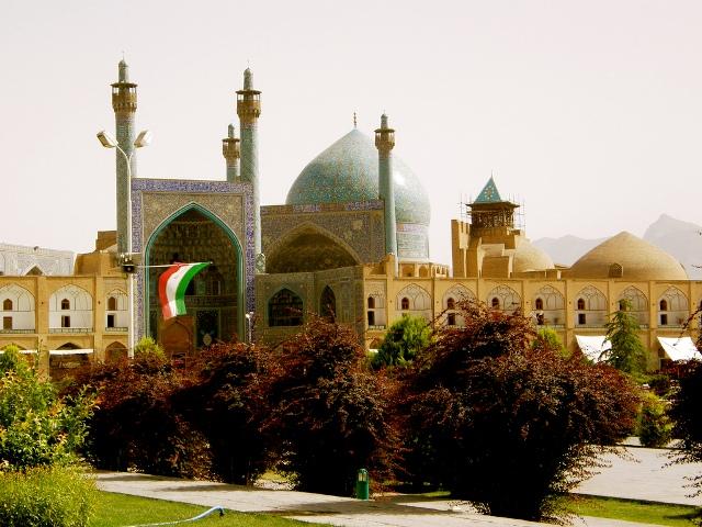 Nhà thờ Hồi giáo Imam - một trong những công trình kiến trúc nổi tiếng của Iran.