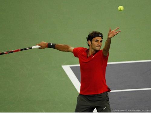 Federer dễ dàng có vé vào tứ kết