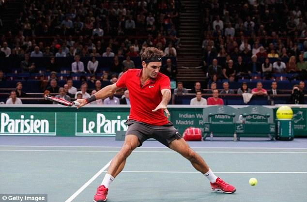 Federer vô cùng dễ thở tại vòng 3 Paris Masters