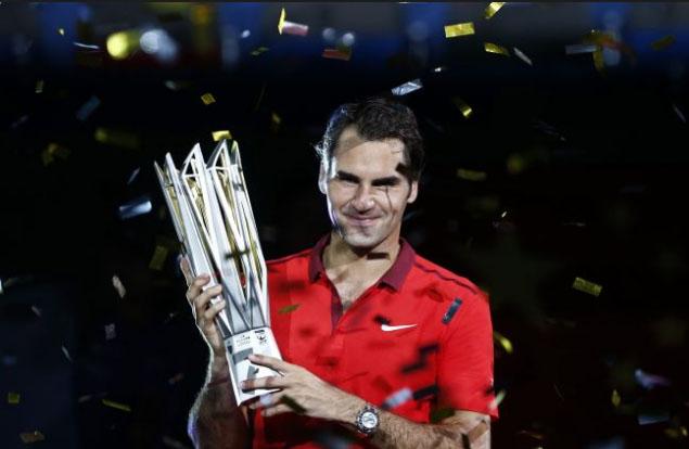 Federer đăng quang tại Thượng Hải Rolex Masters