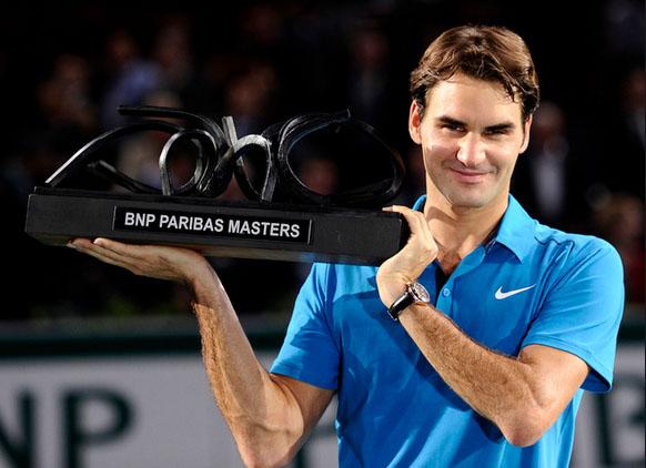 Federer từng vô địch BNP Paribas Masters vào năm 2011