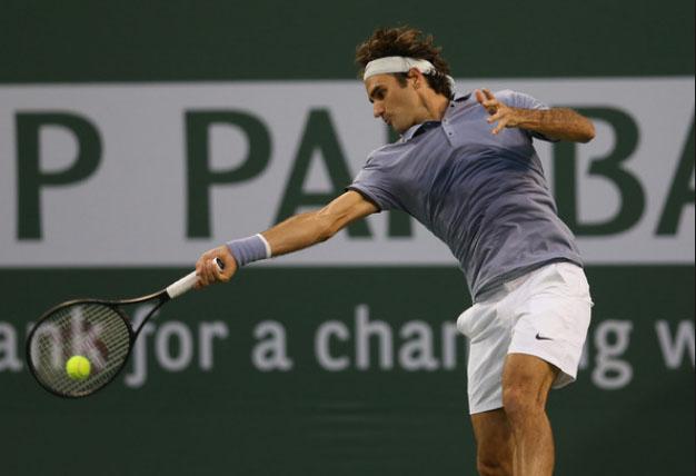 Federer chưa phải thi đấu trong ngày hôm nay