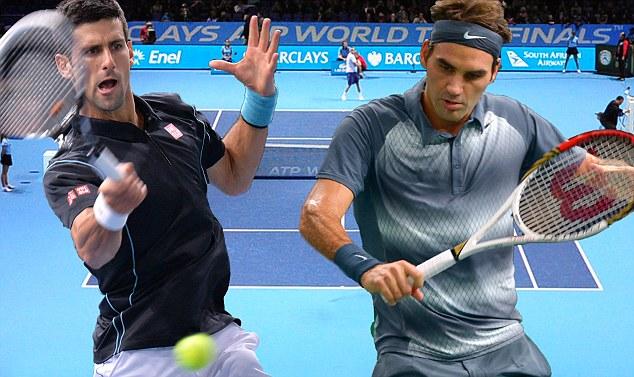 Federer chỉ còn cách vị trí số 1 thế giới của Djokovic 500 điểm