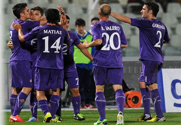 Fiorentina chỉ cần một trận hòa là giánh vé vào vào trong