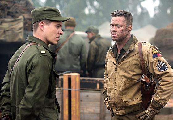 Thế chiến thứ II được thể hiện trong FURY tương đối mới mẻ qua góc nhìn của những người lính xe tăng.