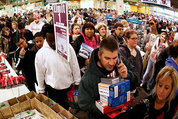 Black Friday là ngày hội mua sắm lớn nhất tại Mỹ