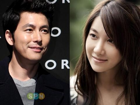 Jung Woo Sung và Lee Ji Ah