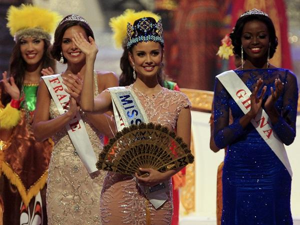 Megan Young - người đẹp Philippines - giành ngôi vị Hoa hậu Thế giới 2013
