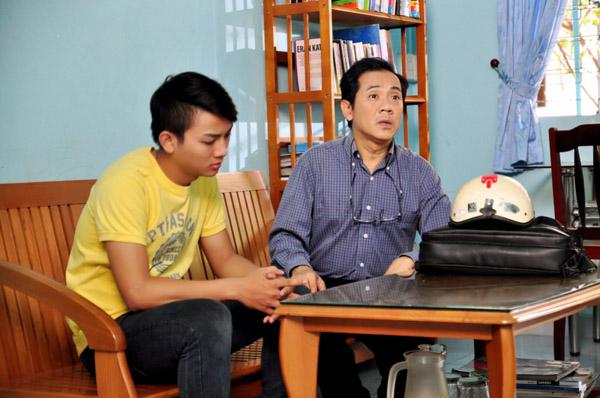 Hoài Lâm và NSƯt Thành Lộc có nhiều cảnh diễn xúc động về tình cảm cha con