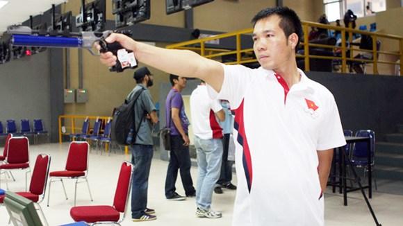 Hoàng Xuân Vinh tiếp tục thi đấu thất vọng. (Ảnh minh họa)