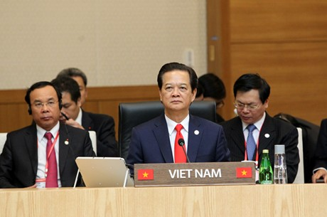 Thủ tướng Nguyễn Tấn Dũng tại Hội nghị. (Ảnh: VGP/Nhật Bắc)