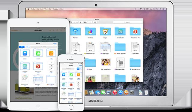 Dịch vụ iCloud hỗ trợ người dùng với 5 GB lưu trữ miễn phí