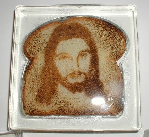 Ig Nobel Thần kinh học: lý giải vì sao nhiều người nhìn thấy Chúa Jesus trên bánh mì nướng