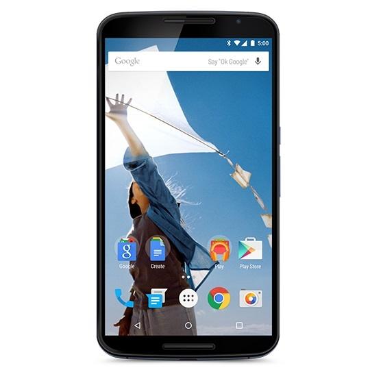 Nexus 6 nổi bật với màn hình khủng