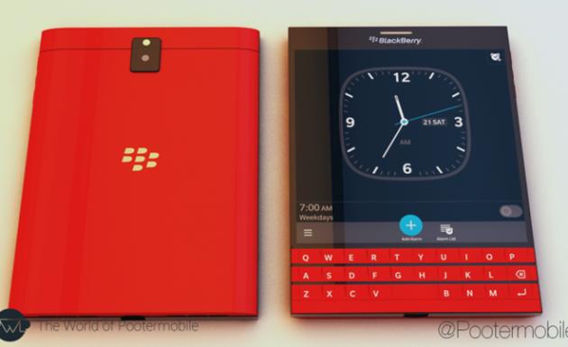 BlackBerry Passport nổi bật với phiên bản màu đỏ tươi
