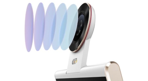 Camera của Doov Nike V1 có khả năng xoay theo bản lề với góc rộng 190 độ