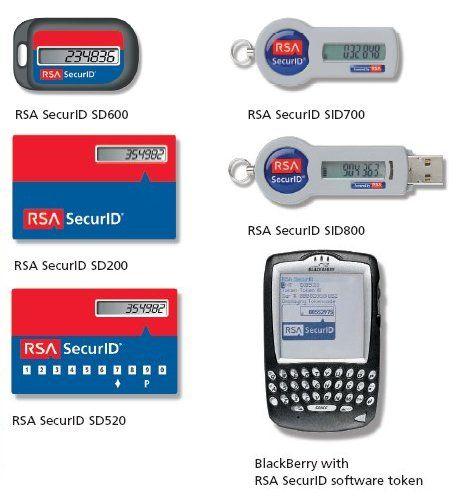 Trước đó, RSA SecurityID đã được sử dụng để tăng cường tính bảo mật