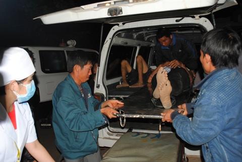 TNGT tại Đăk Lăk: Huy động tối đa bác sĩ, thiết bị cấp cứu nạn nhân