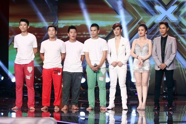 Nhóm O Plus, Loki Bảo Long, Giang Hồng Ngọc và Quang Đại (từ trái qua)