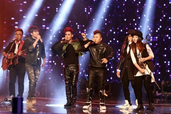 F-Band khép lại Liveshow 7 với ca khúc Quái vật không tên - sáng tác của NS trẻ Phạm Toàn Thắng