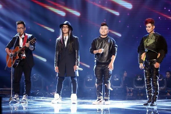 Hà Vân và F-Band trong vòng sing-off