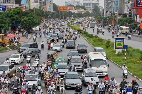Phân luồng giao thông Hà Nội phục vụ thi công nhà ga tàu điện trên cao