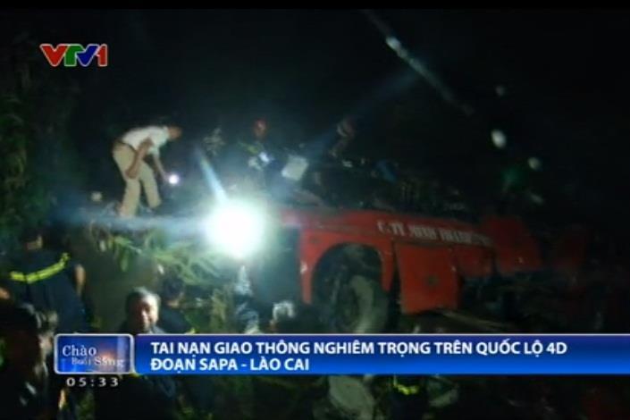 Lào Cai: Xe khách lao xuống vực sâu, ít nhất 12 người thiệt mạng