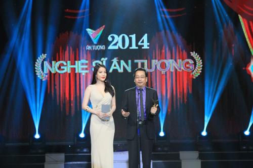 NSND Hoàng Dũng và diễn viên Trương Ngọc Ánh là hai người công bố Giải thưởng Nghệ sĩ ấn tượng