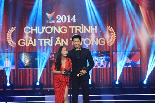 Diễn viên, MC ỐC Thanh Vân và người mẫu Trương Nam Thanh công bố Hạng mục cuối cùng: Chương trình giải trí ấn tượng